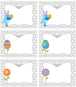 Frugal Life Project: Free Printable Easter Treat Bag Topper and Tags