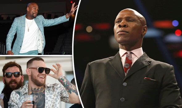 Chris Eubank: I know the secret to beat Floyd Mayweather and it's for Conor McGregor's ear