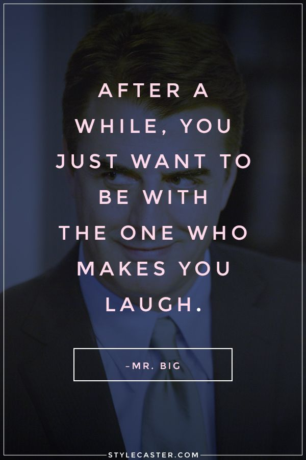 50 Relationship Quote We Love // Mr. Big