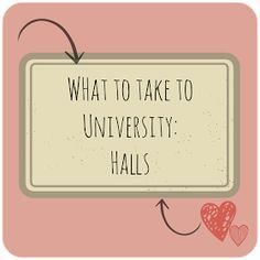 Bethan Lucy: What to take to University: Halls and Bedroom