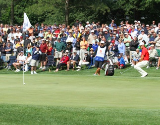 Wells Fargo Championship at Quail Hollow Country Club in Charlotte.