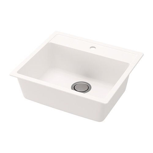 HÄLLVIKEN Inset sink, 1 bowl IKEA 25-year Limited Warranty. Read about the terms in the Limited Warranty brochure.