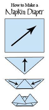 How to make a Napkin Diaper