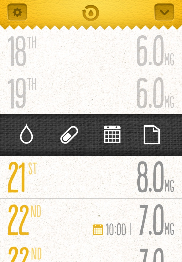 Oat Book - Medical app to know how take a dangerous drugs #digitaldesign #design #app