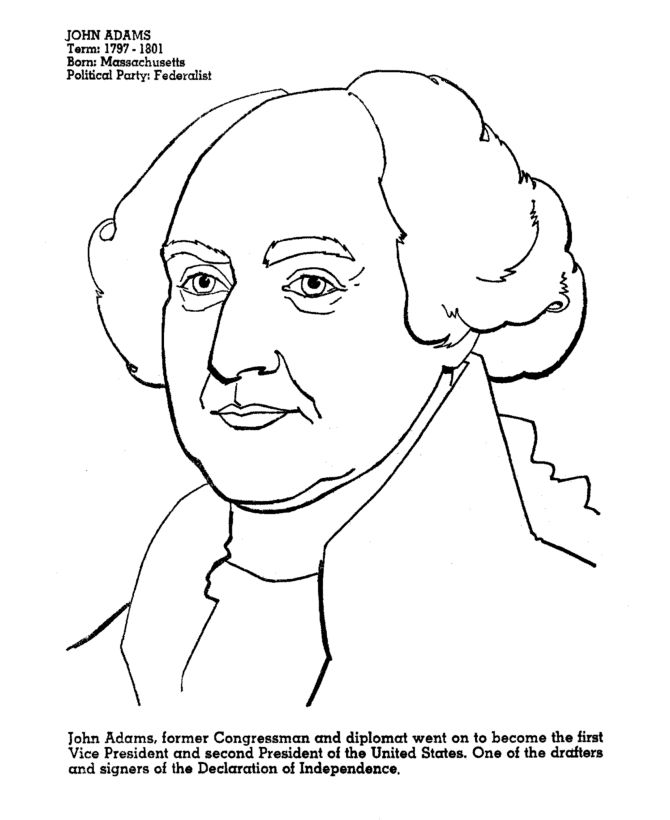 abigail adams coloring pages - photo#19