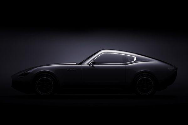 Jag E Type Concept by Laszlo Varga