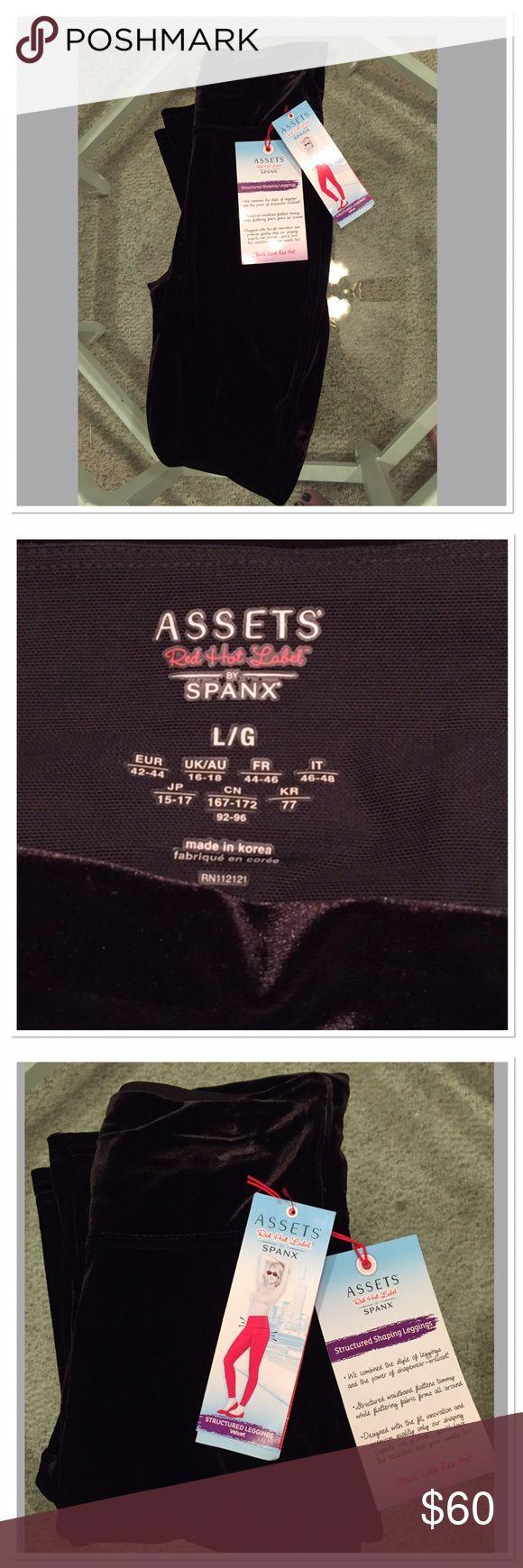 ❤️♥️❤️ NWT Spanx Assets Velour Legging ❤️♥️❤️ ❤️♥️❤️ NWT Spanx Assets Velour Legging ❤️♥️❤️ Size Large ❤️♥️❤️ SPANX Pants Leggings