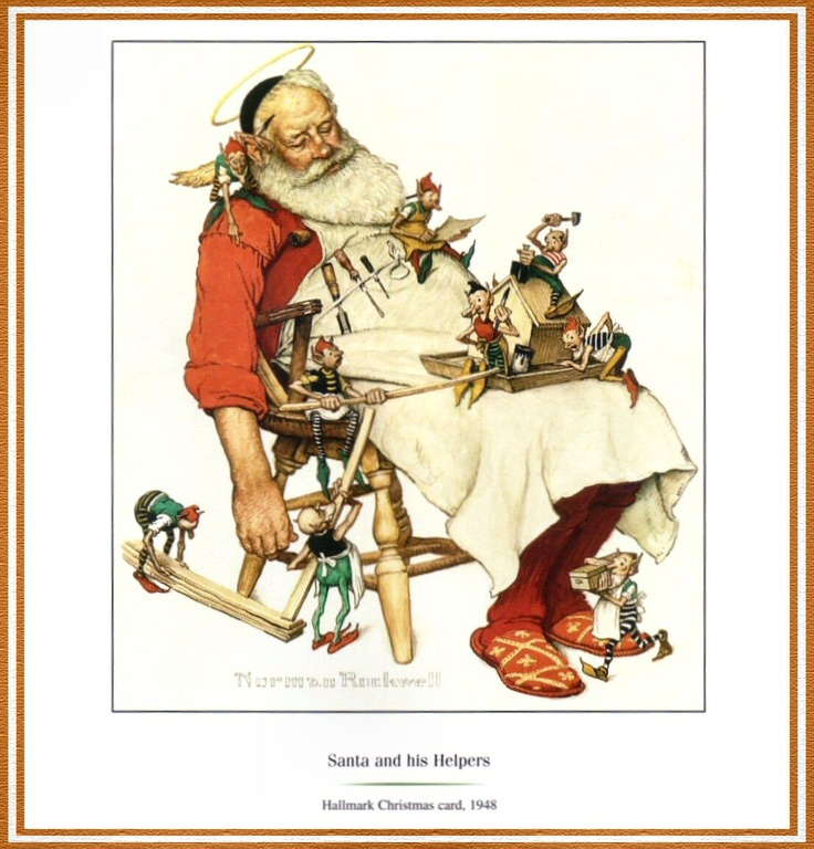 Norman Rockwell Christmas | queenlord.brandforesight.co