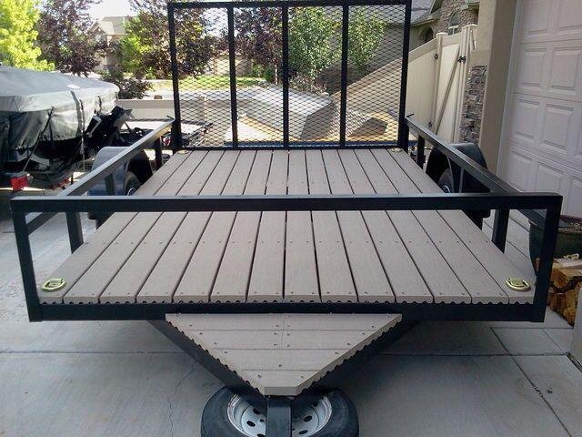 Utility trailer flooring gurus floor for 5x10 wood floor trailer