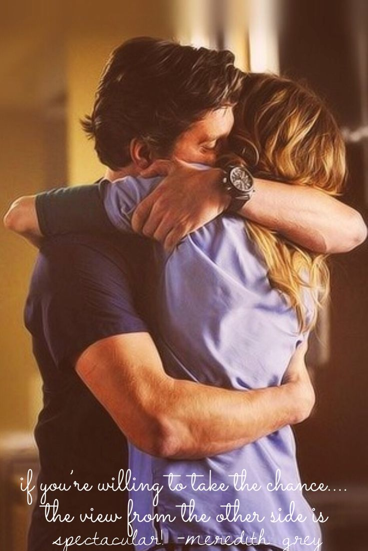 If you're willing to take the chance the view from the other side is spectacular! -Meredith Grey  Greys Anatomy Quotes