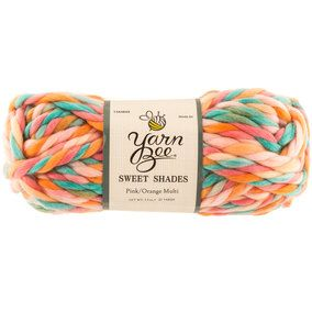 Pink & Orange Multi Yarn Bee Sweet Shades Yarn