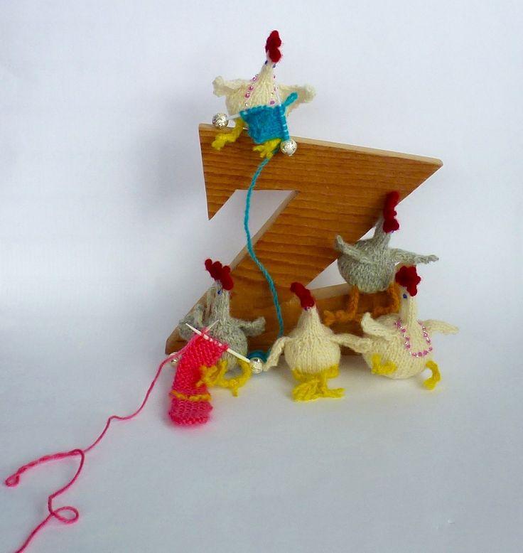 knitting chicky chicks at z