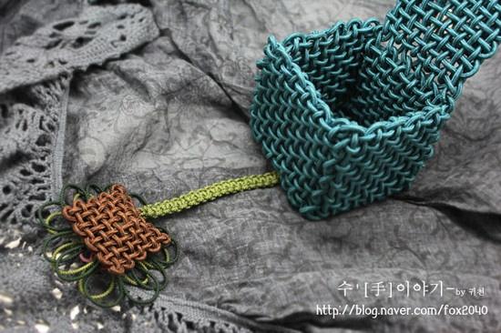 국화매듭선물상자[전통매듭,동양매듭,매듭공예] :: 네이버 블로그