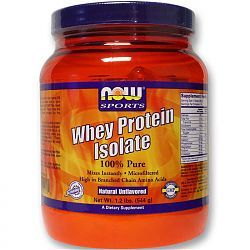 For SOUL bread   NOW 100% Natural Whey Isolate Protein