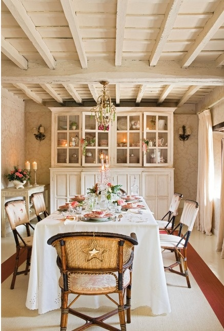 country cottage d cor dining room my dream home pinterest