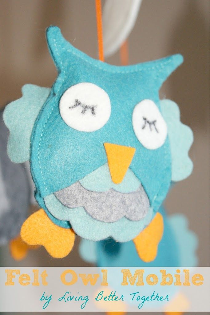 10 images about diy crib mobiles on pinterest origami for Diy baby mobile felt