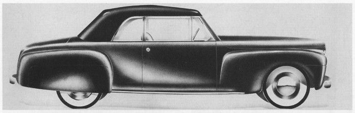 Continental Junior? Walter Dorwin Teague Jr's proposal for a Ford sports car in 1941
