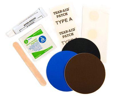 Lekke slaapmat? Geen paniek met deze Home Repair Kit van Therm-A-Rest kan je bijna alle slaapmatten van Therm-A-Rest gemakkelijk thuis repareren. >> http://www.kampeerwereld.nl/therm-a-rest-permanent-home-repair-kit/