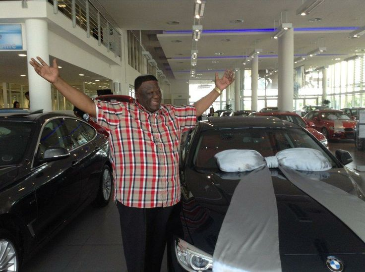 A very excited Mr. Luthuli