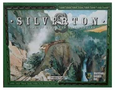 SILVERTON está ambientado en las históricas áreas de minería de Colorado, Nuevo Méjico y Utah, y es un juego de trenes, minería, y sobre la manipulación del mercado comercial. Utilizarás a tu topógrafo para trazar lineas de ferrocarriles y a tu prospector para encontrar minas. Haz funcionar tu imperio de minas y ferrocarriles para colocar al mejor precio tu oro, plata, y otras materias primas, con el objeto de lograr el máximo beneficio. Un juego muy económico para de 1 a 6 jugadores en…