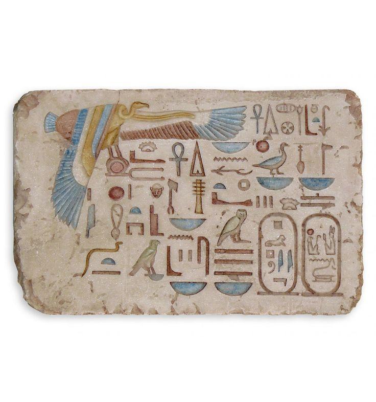 Tablilla Nekhbeth o Nejbet | Tablilla egipcia | Arte egipcio