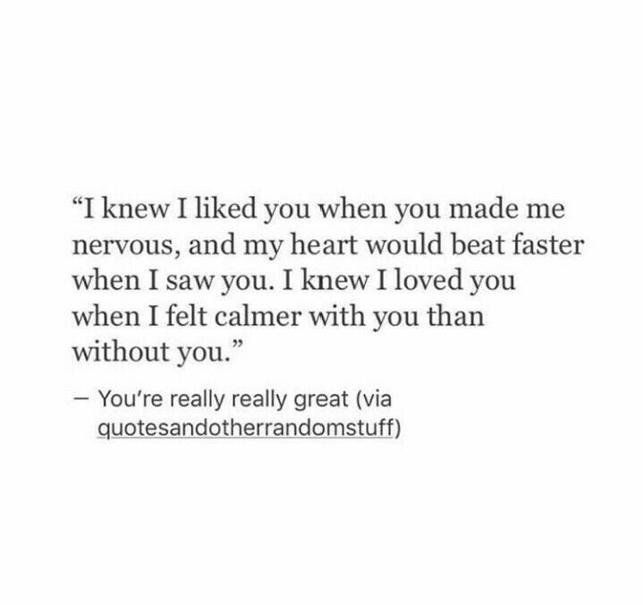 Yesss, so much more calm with you. Half of me is missing too.