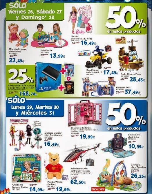 Juguetes para ni as de toysrus del 29 12 14 juguetes - Maletas infantiles toysrus ...