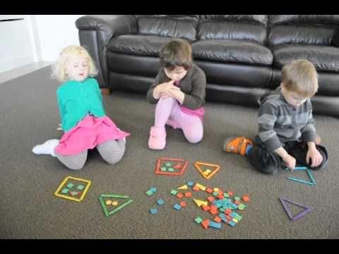 Математика для малышей (домашний детский сад, Окленд, Новая Зеландия).