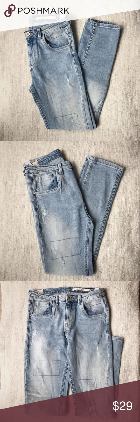 Zara Jeans - dames - denim broek slouchy charactor brand new with tag. not my style so decided to sell it. Zara Jeans