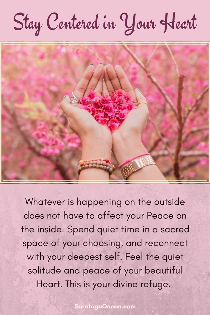 Even if there is turmoil on the outside, you always have a beautiful refuge within you. Your heart is connected to Peace and Divine Love, no matter what is going on in the world around you. Remember to take some sacred time to go there whenever you feel the need. Namaste <3