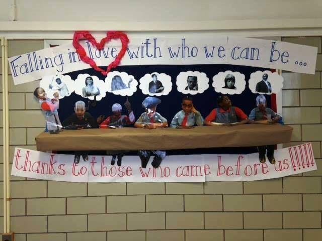 Bulletin board ideas from Success Academy Charter Schools