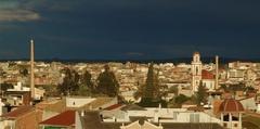 Panorámica de Ceutí (Murcia, Spain).
