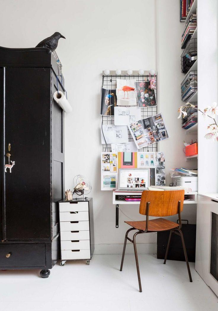 werkplek | work space | vtwonen 09-2016 | photography: Hans Mossel | styling: Sabine Burkunk