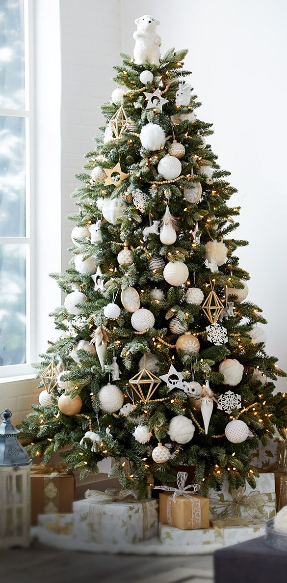 Alpine White Christmas Ornaments and Décor by CANVAS | Canadian Tire - Alpine White Christmas Ornaments And Décor By CANVAS Canadian Tire