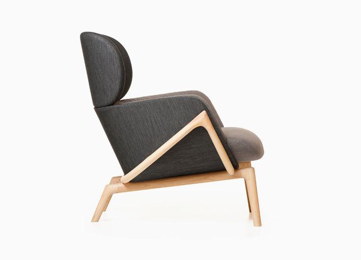 Elysia lounge chair - Luca Nichetto