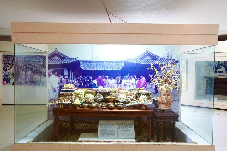 하회마을 전시관(엘리자베스여왕 생일상)