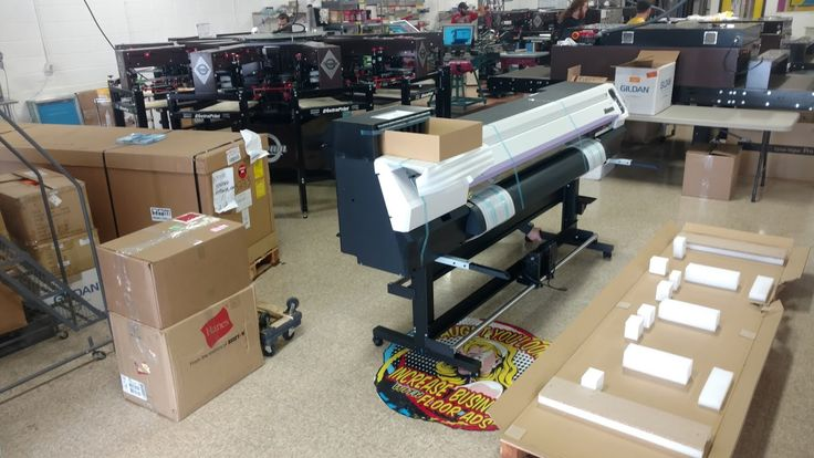 We are upgrading our shop by getting two brand new Mimaki digital printers. We are up and running and now have the biggest and best digital printers around.  #signs #banners #equipment