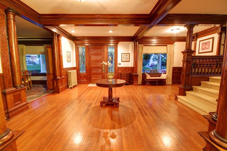 Foyer Interior Kit : Best images about american foursquare homes on