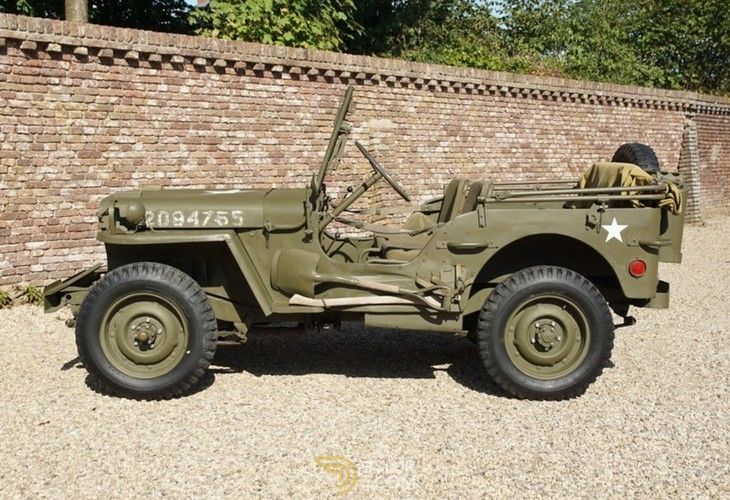 Ford Gpw General Purpose Willys Cabriolet Roadster 1943 Green General Purpose Willys Car For Sale 222907 Ford Tractors Dream Cars Cars