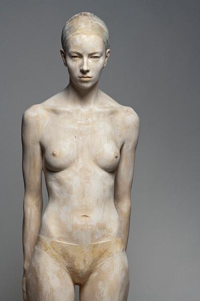 Bruno Walpoth wood sculpture