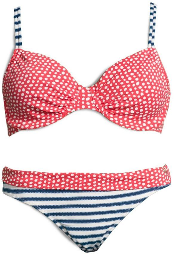 #marine-look #maritimer-look #streifen #blau-weiß #nautical #⚓⚓⚓    http://www.aboutyou.de/p/soliver/buegel-bikini-soliver-2189220