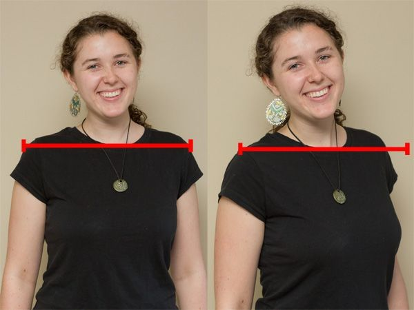 Turn the Shoulders This is a very simple tip, but important. If your subject stares at the camera head-on, they look bigger. This can be goo...