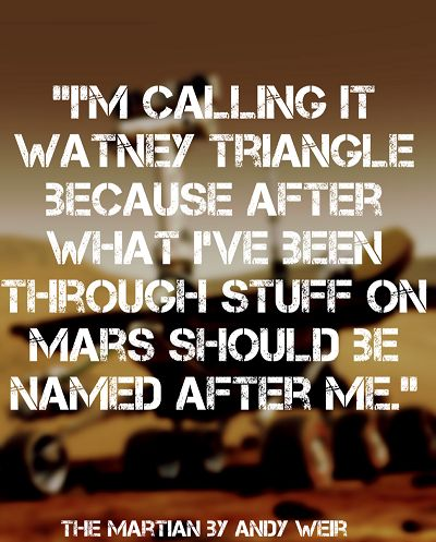 The Martian by Andy Weir quote readingwithwrin.blogspot.com