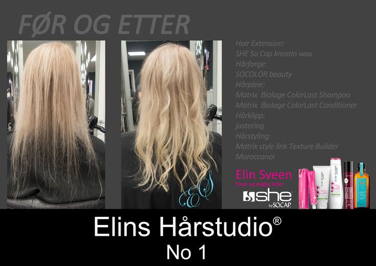 Hair Extension SHE by So Cap langt lyst hår