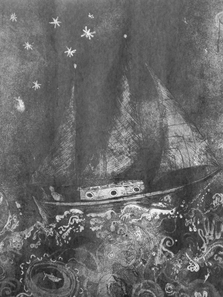 Etching, Lucy Hemming.