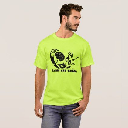 #Brains are Good Zombie T-shirt - #birthday #gifts #giftideas #present #party