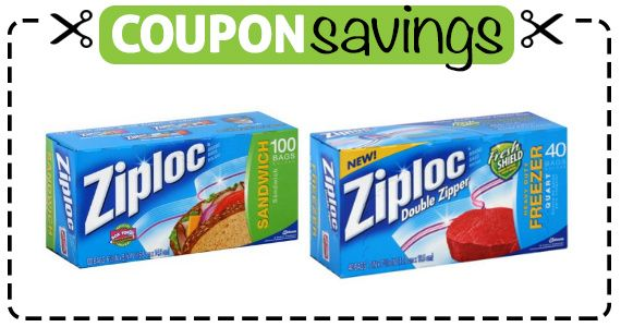 You Can #Save $1 on #Ziploc Bags with this #Coupon!