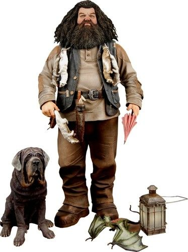 "Harry Potter - 10"" Talking Hagrid Action Figure w/ Push-Button Sound by NECA"