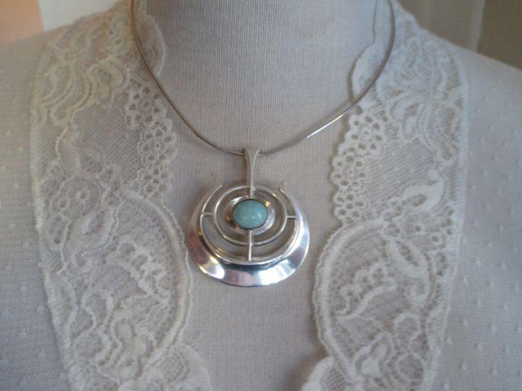 Pendant with amasonite stone