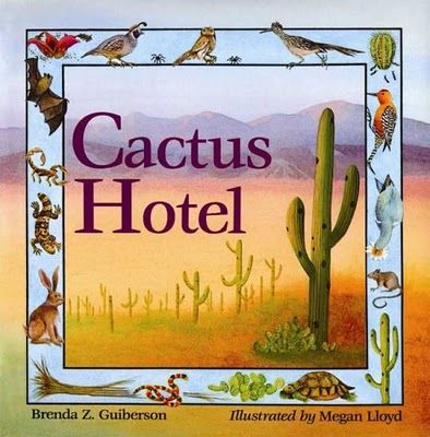 E is for Explore! Life science unit ideas based on the cactus and desert environment.